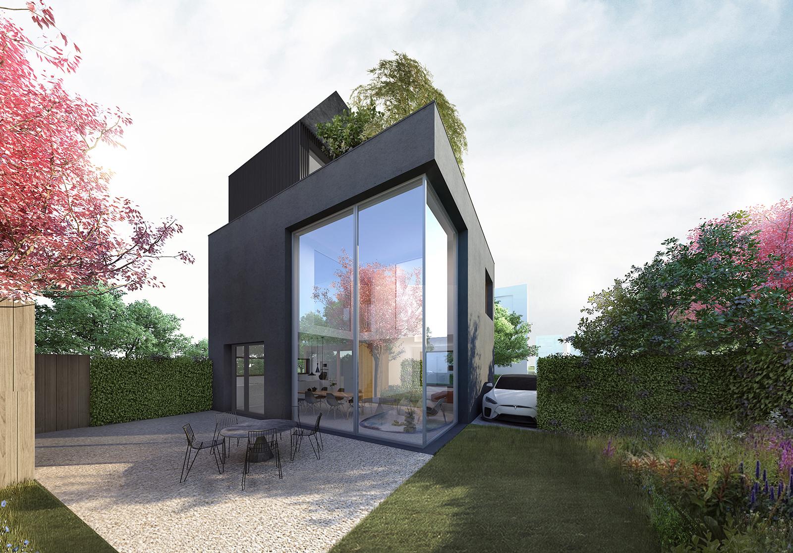 TheWayWeBuild villa Noord - tuin1600-r