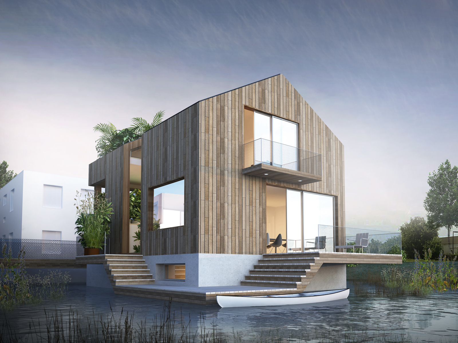 How To Build A Floating House Home Design
