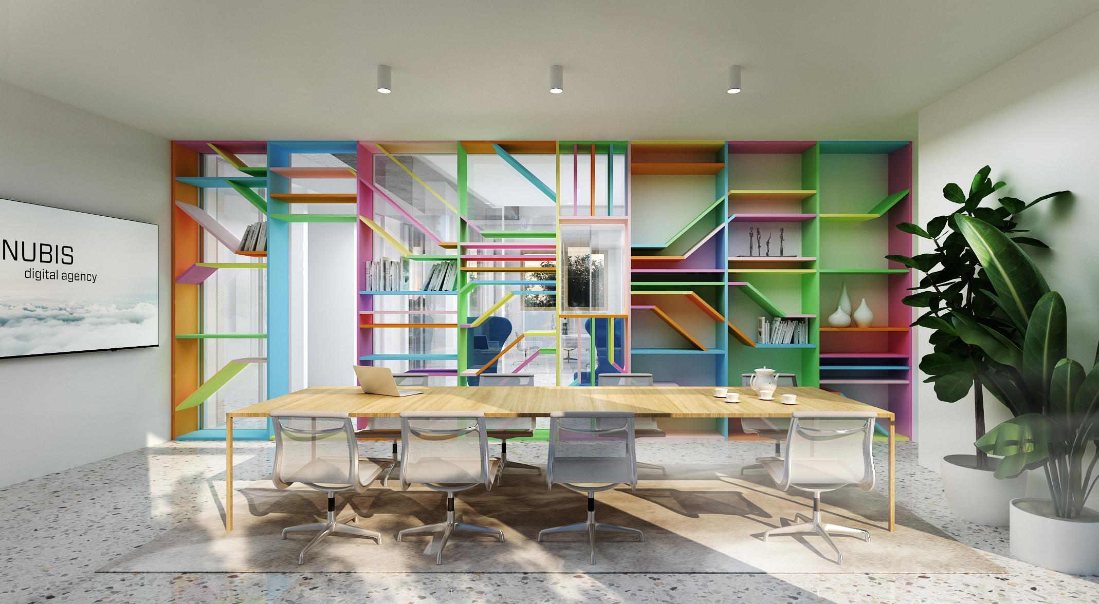 nubis coloured cabinet